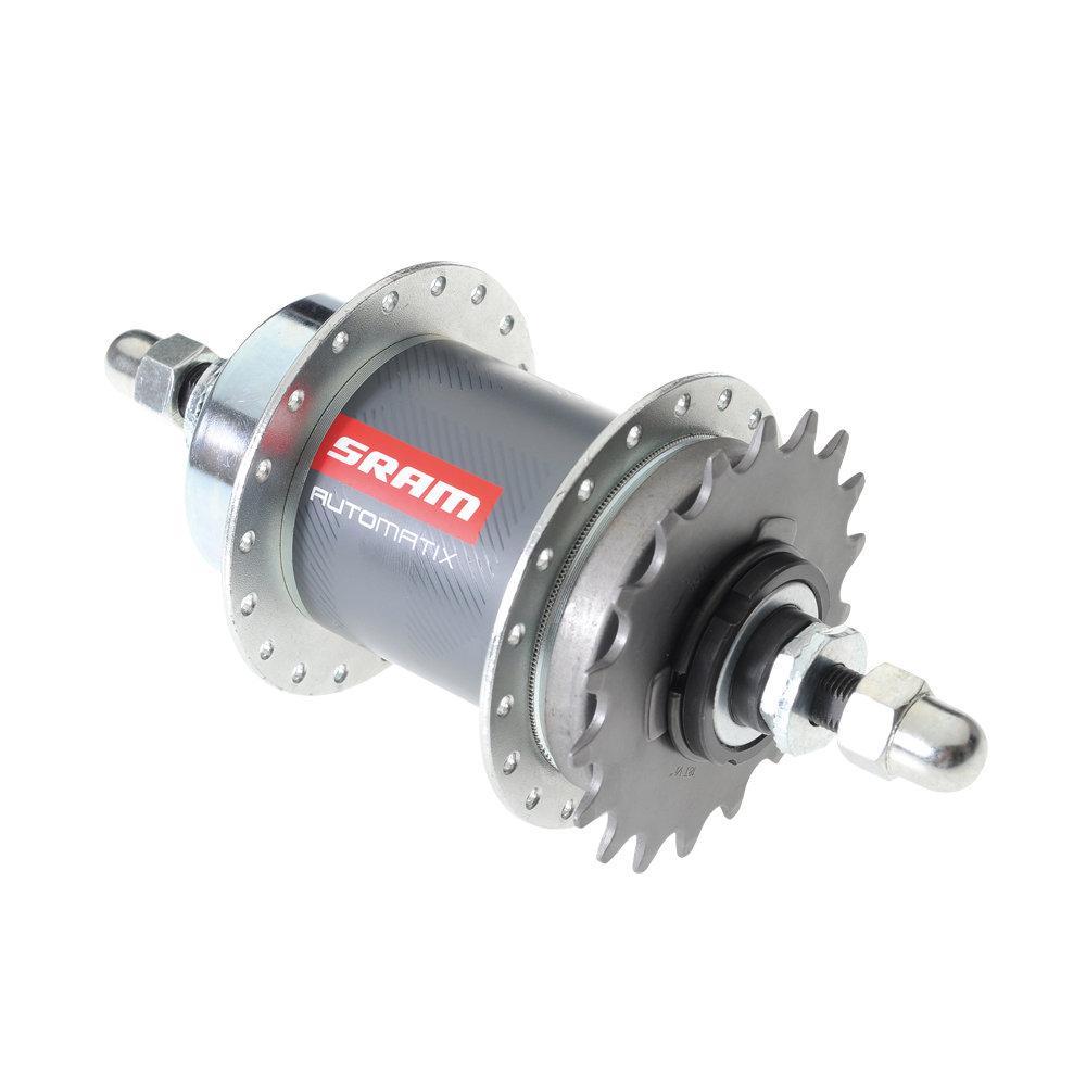 SRAM Automatix 2 rychlostní volnoběžný náboj, 36děr, 130 OLD 178 Axle (SRAM Automatix 2 rychlostní volnoběžný náboj, 36děr, 130 OLD 178 Axle)