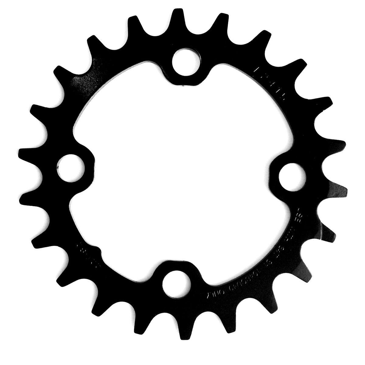 Převodník SRAM MTB 22T 64 AL3 Blast Black 2x10 No Pin