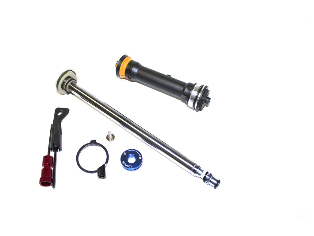 Fork DAMPER ASSEMBLY - REMOTE 17mm (POPLOC, PRE-2013 PUSHLOC) TURNKEY 26/29 80-120mm (INCL