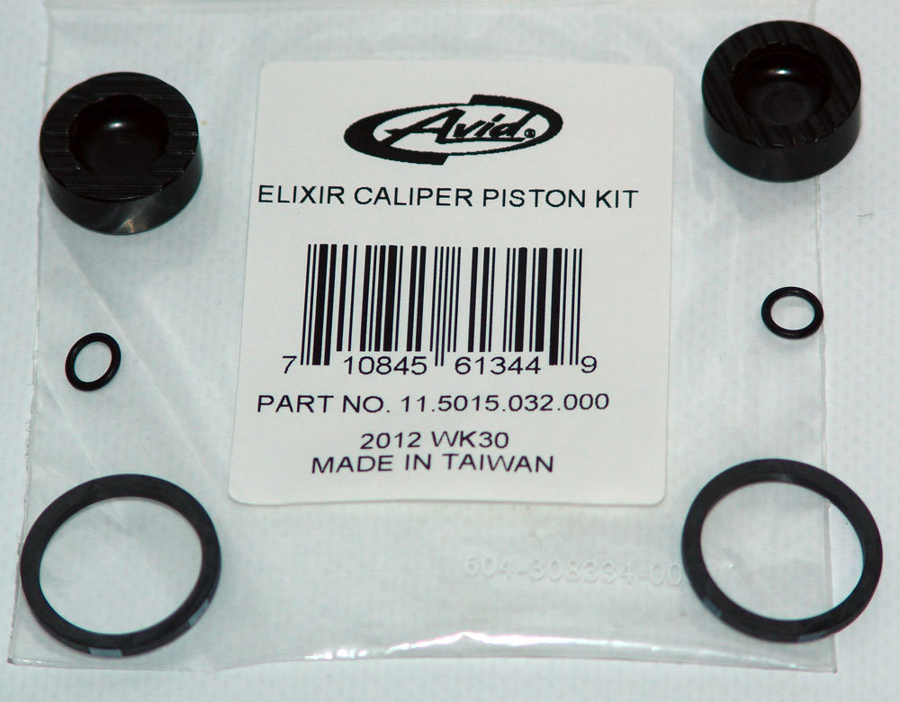 Elixir Caliper Piston Kit, Qty 1