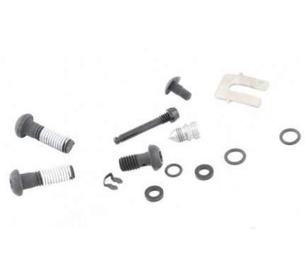 DISC BRAKE CALIPER HARDWARE KIT - (INCLUDES BLACKBODY BOLT, BANJO BOLT, BLEED SCREW, PAD P