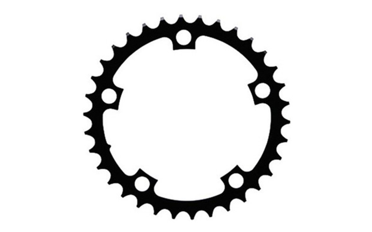 Převodník SRAM Road 38T V1 110 Alum 3mm Black (52-38)