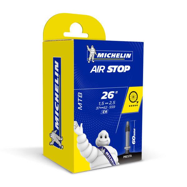 Duše Michelin C4 AIRSTOP 37/54X559, galuskový ventil 60mm