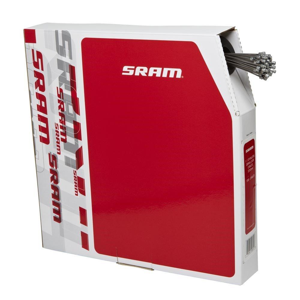 SRAM 1.1 ocelové řadící lanko, 2200mm, 100ks v boxu