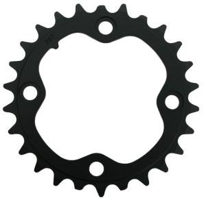 Chain Ring MTB 22T V3 64 Alum Hard Black