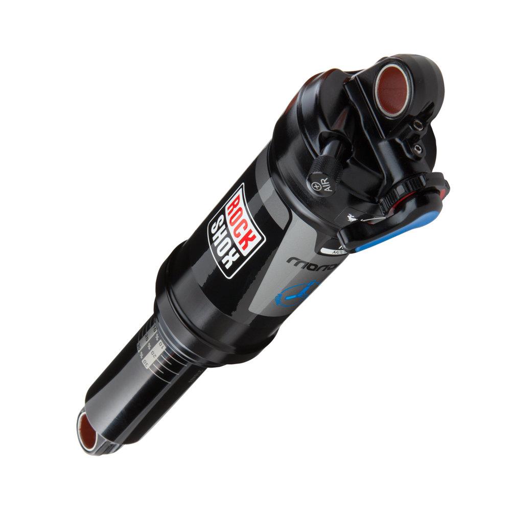 """Zadní tlumič RockShox Monarch RT3 (184x44/7.25""""x1.75"""") Tune-MidReb/MidComp, Soft Pedal Tun (Zadní tlumič RockShox Monarch RT3 (184x44/7.25""""x1.75"""") Tune-MidReb/MidComp, Soft Pedal Tune, 320 Lockout Force, Fast Black Body (v balení servi"""