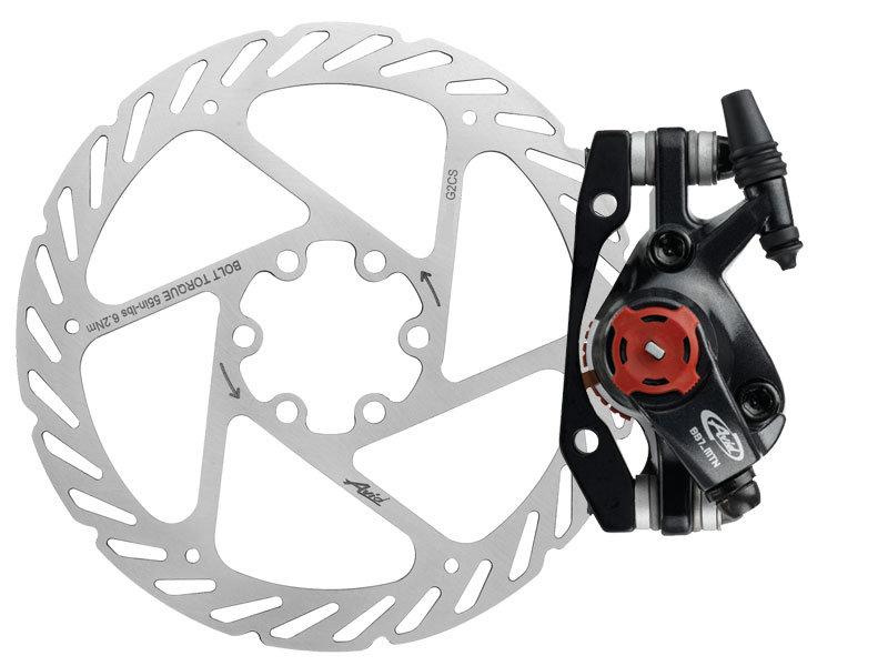 Disková brzda AVID BB7 MTB Graphite, CPS (v balení 180mm G2CS kotouč,šrouby kotouče, CPS š