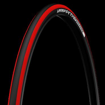 Plášť Michelin PRO4 ENDURANCE V2, 23-622 (700x23C), červený