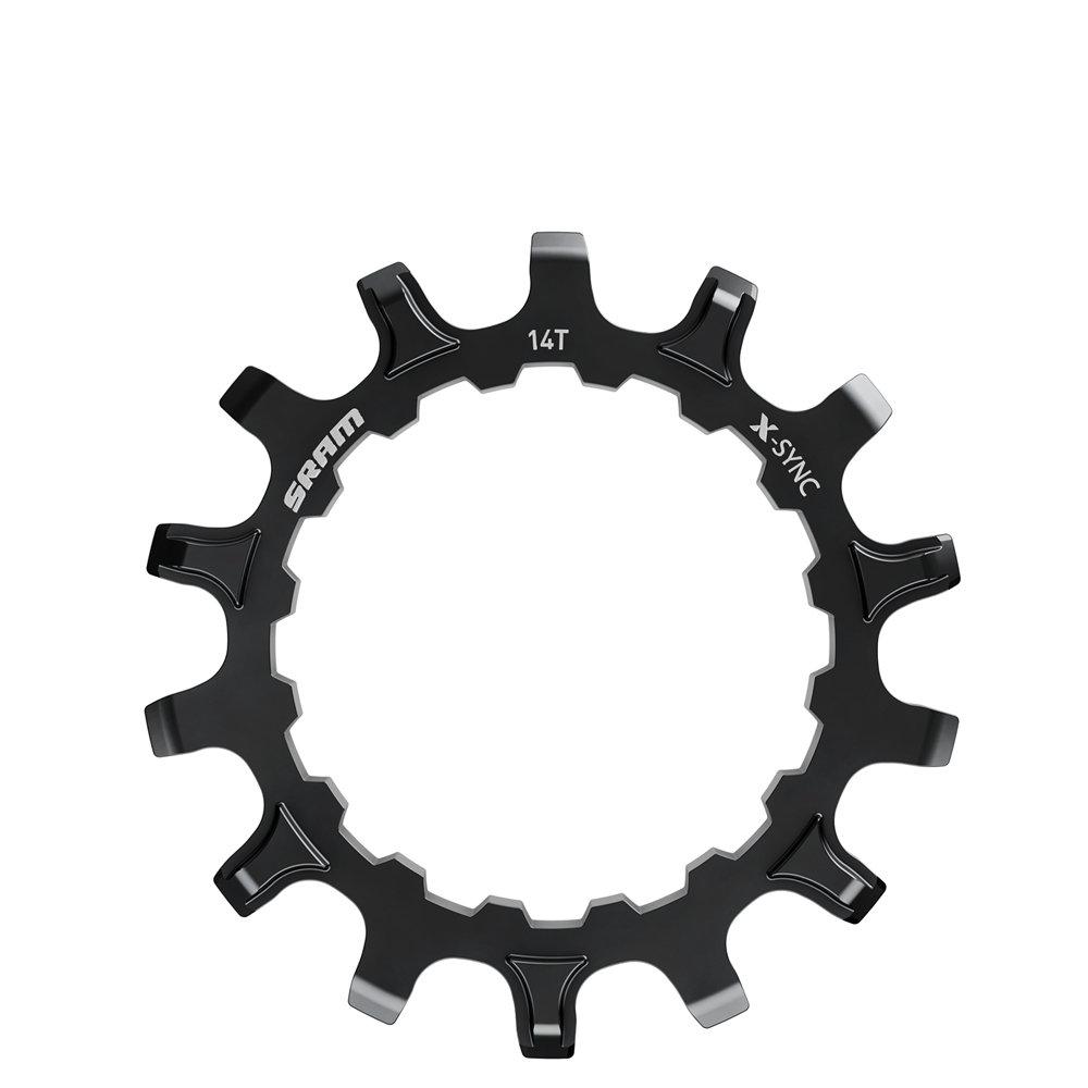Převodník X-SYNC pastorek pro Bosch motory 14z Straight Steel Black
