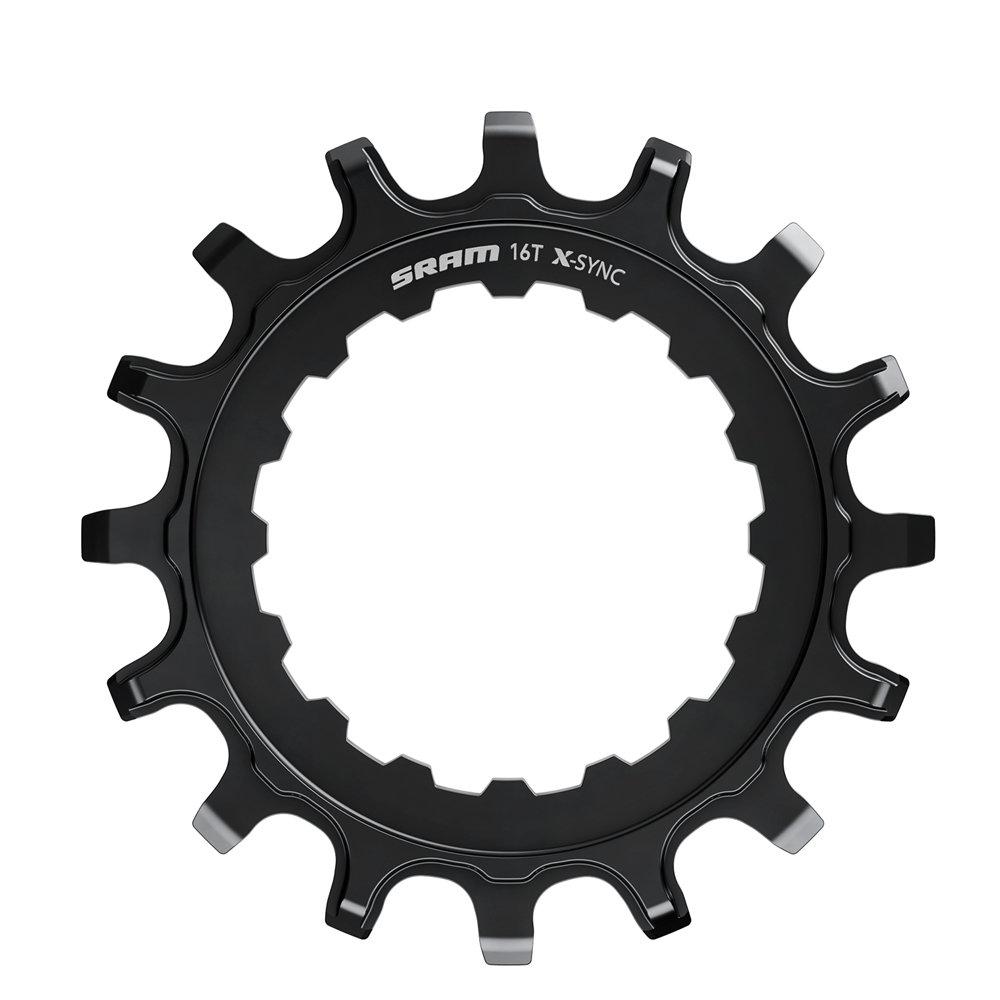 Převodník X-SYNC pastorek pro Bosch motory 16z Straight Steel Black