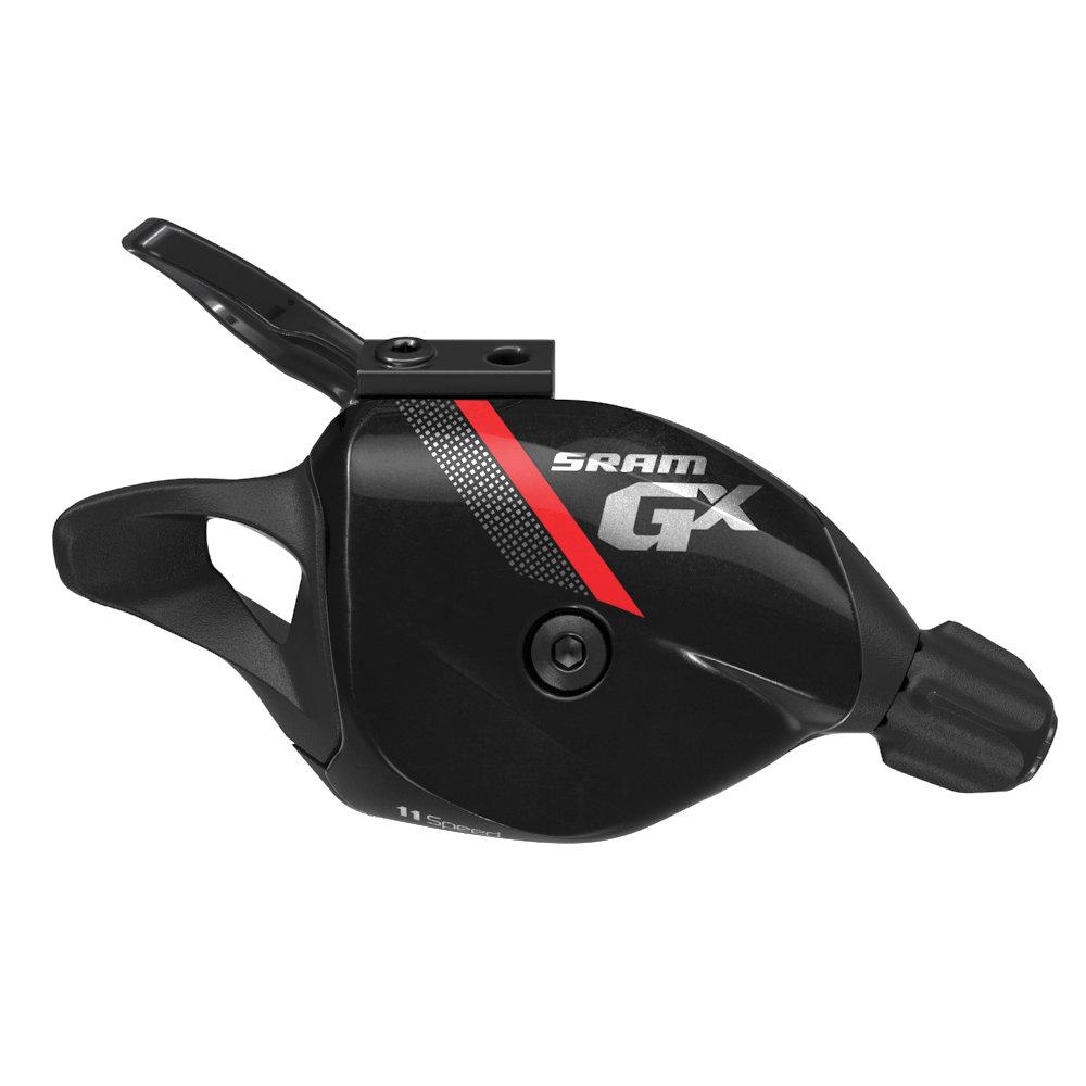 Řadící páčka SRAM GX , 11rychl., včetně samostatné objímky červené