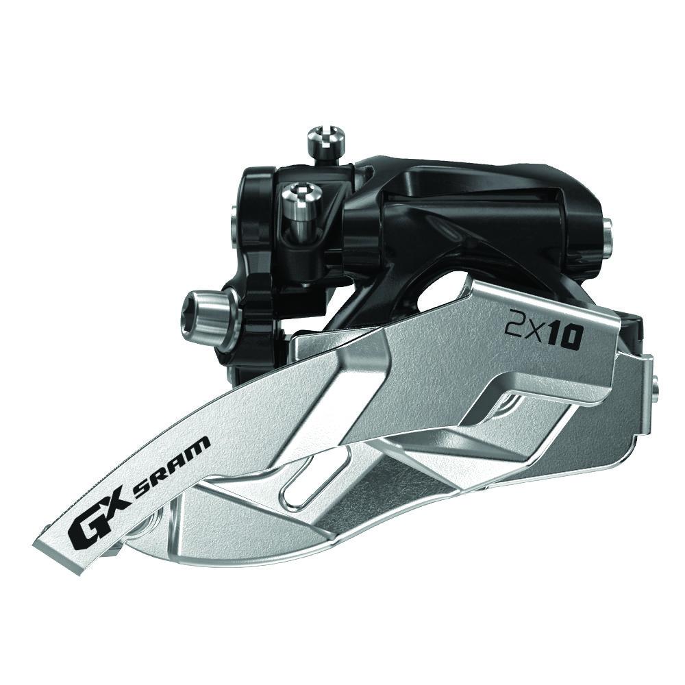 Přesmykač SRAM GX 2x10 spodní objímka 38/36z, obojí tah