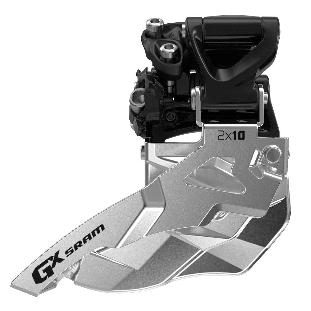 Přesmykač SRAM GX 2x10 střední přímá montáž, 34z , horní tah