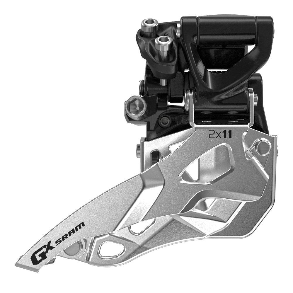 Přesmykač SRAM GX 2x11 střední přímá montáž, , horní tah (Přesmykač SRAM GX 2x11 střední přímá montáž, , horní tah)