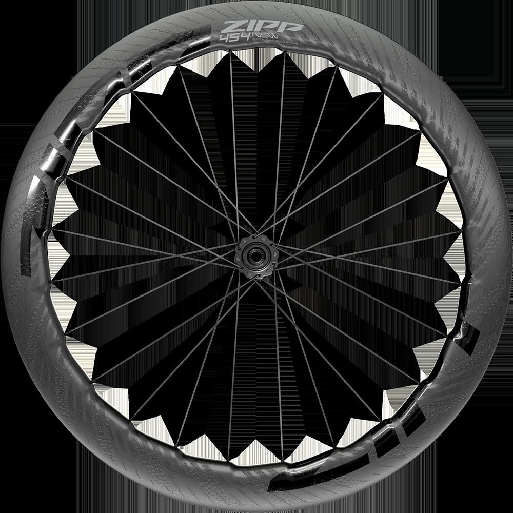 Napletené kolo ZIPP 454 NSW Carbon Tubeless, pro diskovou brzdu, Center Locking 700c předn