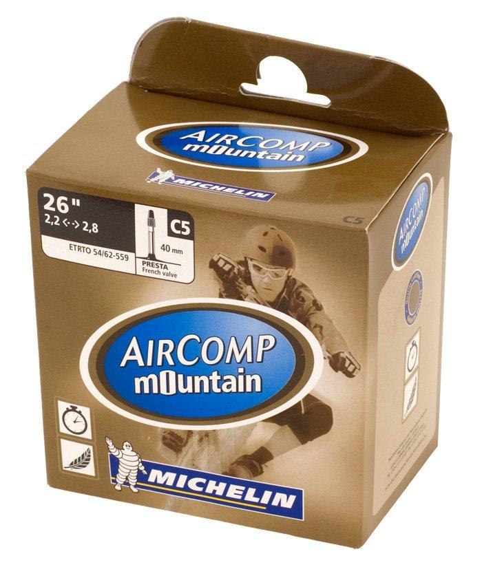 Duše Michelin C5 Comp Mountain Valve Presta 54/62x559, ventilek galuskový PR 40mm