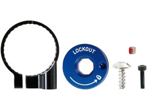 FRONT SUSPENSION INTERNALS RIGHT REMOTE SPOOL/CABLE CLAMP KIT RECON GOLD TKRL/SEKTOR TKRL/