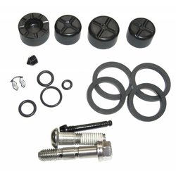 DISC BRAKE CALIPER KIT - (INCLUDES PISTONS, SEALS, GUIDE PIN, BANJO & BOLTS) - ELIXIR X0/9