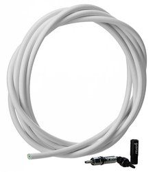 Hydraulic Hose White (2000mm) Kit - Reverb (includes new hose, new strain relief, new barb