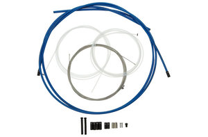 Professional Shift Cable System by Gore Ride-On for Road and MTB - modrý