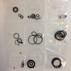 REAR SHOCK SERVICE KIT - FULL SERVICE (INCLUDES DEBONAIR AIR CAN SEALS) - MONARCH PLUS B1